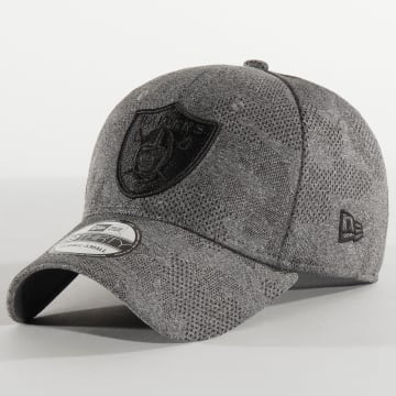New Era - Casquette Fitted 39Thirty Engineered Plus 12287060 Oakland raiders Gris Chiné Camo