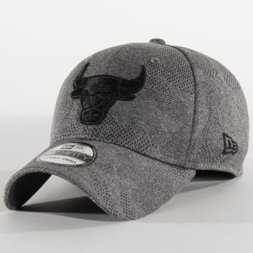 New Era - Casquette Fitted 39Thirty Engineered Plus 12287062 Chicago Bulls Gris Chiné Camo