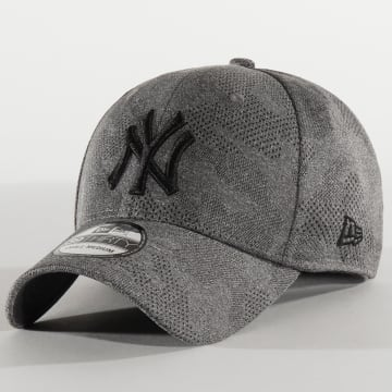 New Era - Casquette Fitted 39Thirty Engineered Plus 12287061 New York Yankees Gris Chiné Camo