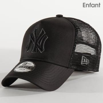 Casquette Trucker Enfant 9Forty Tonal Black 12301099 New York Yankees Noir