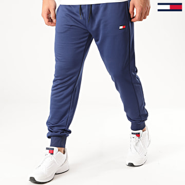 Pantalon Jogging Printed Cuffed 0446 Bleu Marine