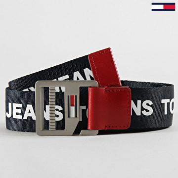 Tommy Jeans - Ceinture Dring Belt 5963 Noir Blanc