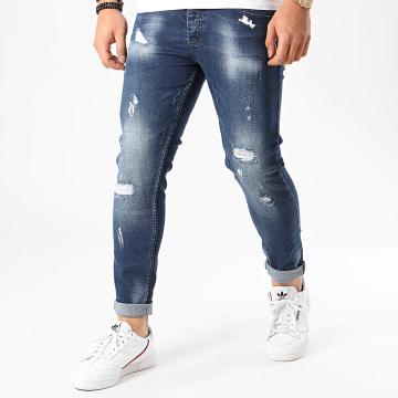 Jean Skinny 645 Bleu Denim