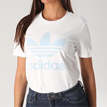 Tee Shirt Femme Trefoil FM3293 Blanc