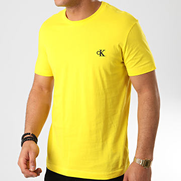 Calvin Klein - Tee Shirt Essential 4544 Jaune