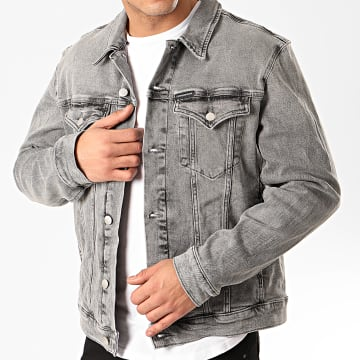 Calvin Klein - Veste Jean Foundation Denim 4665 Gris