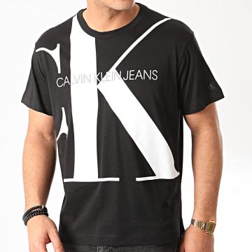 Tee Shirt Upscale Monogram Logo 4810 Noir
