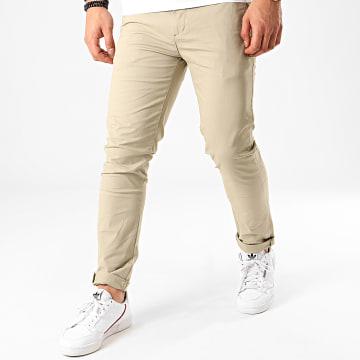 KZR - Pantalon Chino KD67088 Vert Pale