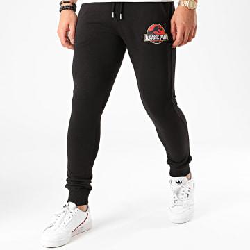 Jurassic Park - Pantalon Jogging Original Logo Noir