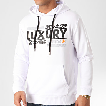 Sweat Capuche Luxury Highway Blanc