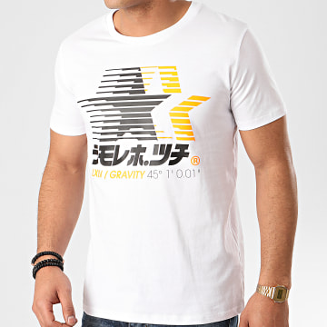 Tee Shirt Speed Star Blanc