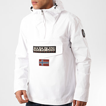 Napapijri - Veste Outdoor Rainforest Summer NA4E68 Blanc
