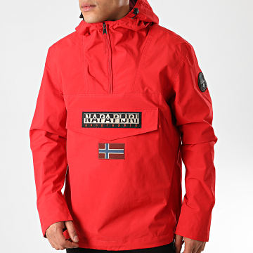 Napapijri - Veste Outdoor Rainforest Summer NP0A4E68 Rouge