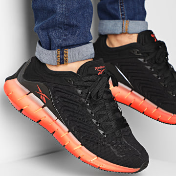 Reebok - Baskets Zig Kinetica EH1724 Black Sunny Orange Vivid Orange
