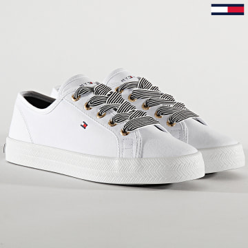 Tommy Hilfiger - Baskets Femme Essential Nautical Sneaker 4848 White
