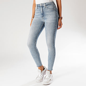 Calvin Klein - Jean Femme Super Skinny 3864 Bleu Wash