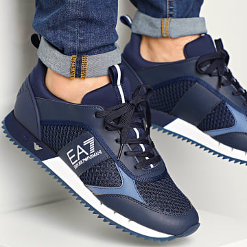 Baskets X8X027-XK050 Navy White