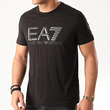 EA7 - Tee Shirt Réfléchissant 3HPT81-PJM9Z Noir