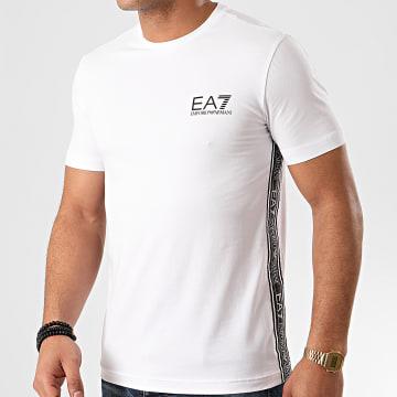 EA7 - Tee Shirt 3HPT07-PJ03Z Blanc