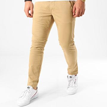 Pantalon Chino 010CC2B301 Beige Foncé