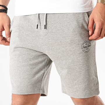 Short Jogging Shark Sweat Gris Chiné