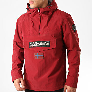 Napapijri - Veste Outdoor Rainforest Summer A4E68 Bordeaux