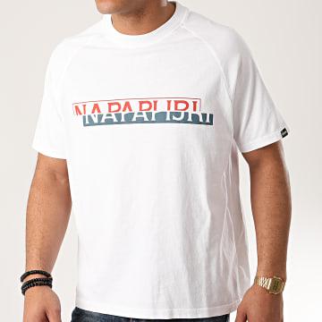 Napapijri - Tee Shirt Sire A4EBG Blanc