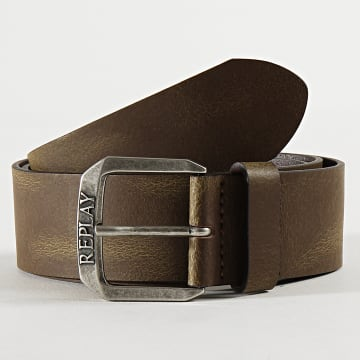 Replay - Ceinture AM2575 Marron