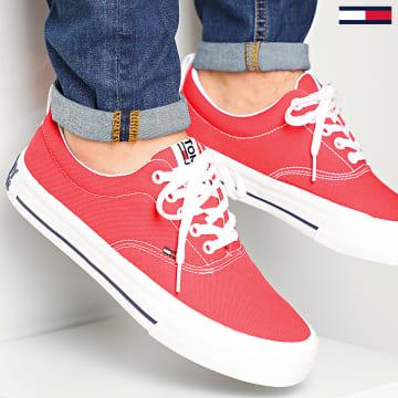 Baskets Classic Low Tommy Jeans Sneaker 0405 Deep Crimson