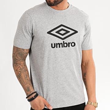 Umbro - Tee Shirt Sport Basics 729281 Gris Chiné