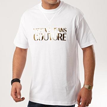 Versace Jeans Couture - Tee Shirt B3GVA7EA-30311 Blanc Doré