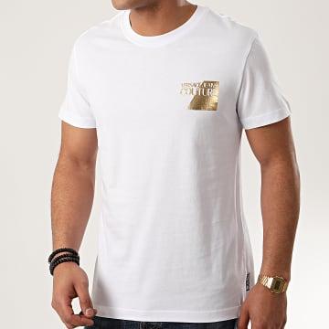 Versace Jeans Couture - Tee Shirt B3GVB7TS-30319 Blanc Doré