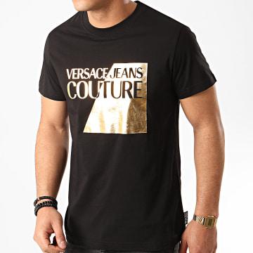 Versace Jeans Couture - Tee Shirt B3GVB7TP-30319 Noir Doré