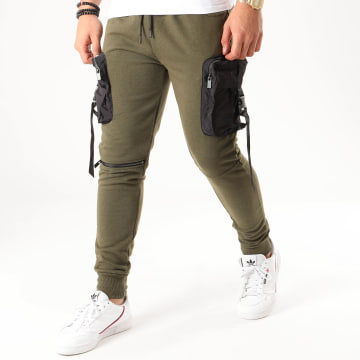 Zayne Paris  - Pantalon Jogging TX-524 Vert Kaki