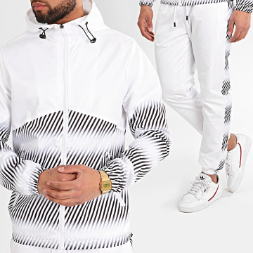 Zayne Paris  - Ensemble De Survetement TX-507 Blanc