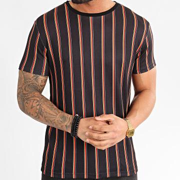 Tee Shirt A Rayures 71753 Noir