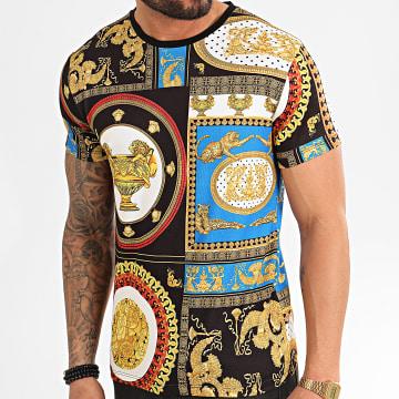 Tee Shirt 71754 Noir Renaissance