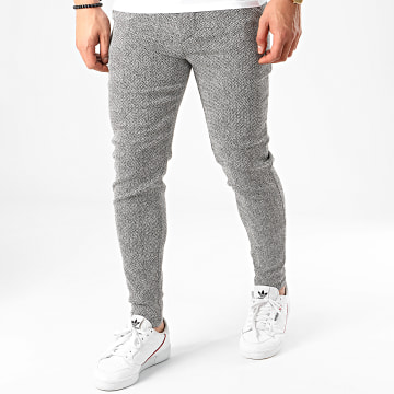 Pantalon 1703 Blanc Noir
