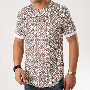 Tee Shirt Oversize 13813H11 Blanc Floral