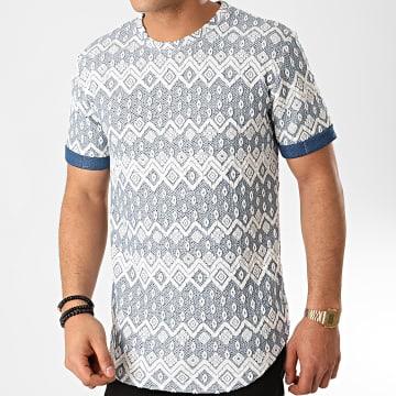 Frilivin - Tee Shirt Oversize 13813H15 Bleu Clair
