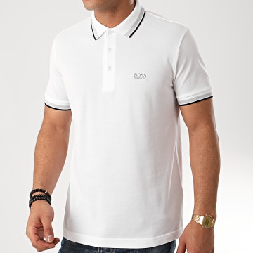 Hugo Boss - Polo Manches Courtes 50198254 Blanc