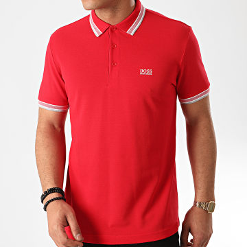 Hugo Boss - Polo Manches Courtes 50198254 Rouge