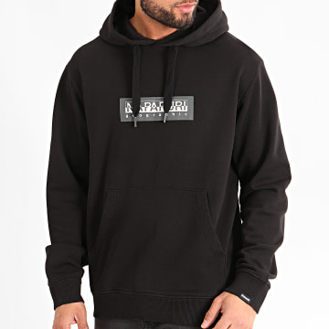Napapijri - Sweat Capuche Box A4EA8 Noir