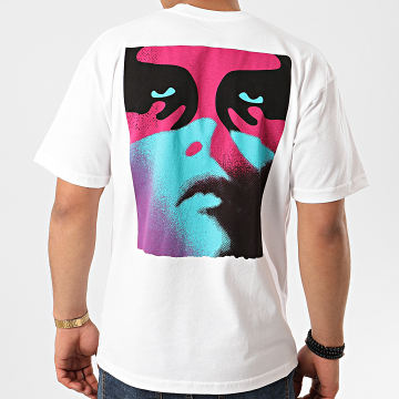 Obey - Tee Shirt Women Icon Blanc