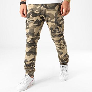 Jogger Pant Camouflage 13051 Vert Kaki Beige