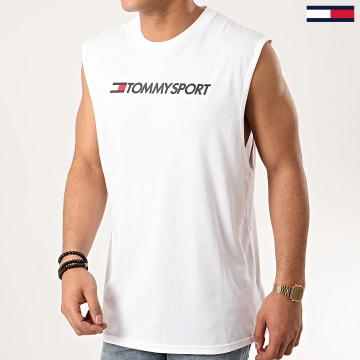 Tommy Sport - Débardeur HBR Logo 0358 Blanc