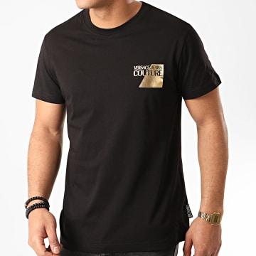Versace Jeans Couture - Tee Shirt B3GVT7TS-30319 Noir Doré