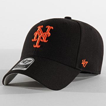'47 Brand - Casquette MVP Adjustable MVP16WBV New York Mets Noir