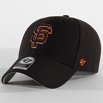 '47 Brand - Casquette MVP Adjustable MVP22WBV San Francisco Giants Noir