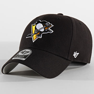 '47 Brand - Casquette MVP Adjustable MVP15WBV Pittsburgh Penguins Noir